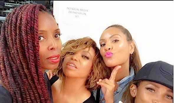 Tisha Campbell Martin Shoots 'Steel Here' Video [Photos]