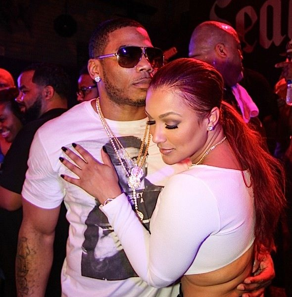 Nelly & Girlfriend Shantel Jackson Spotted Cup Cakin' In NOLA + Bryan Michael Cox, Marsha Ambrosius, Rico Love [Photos]