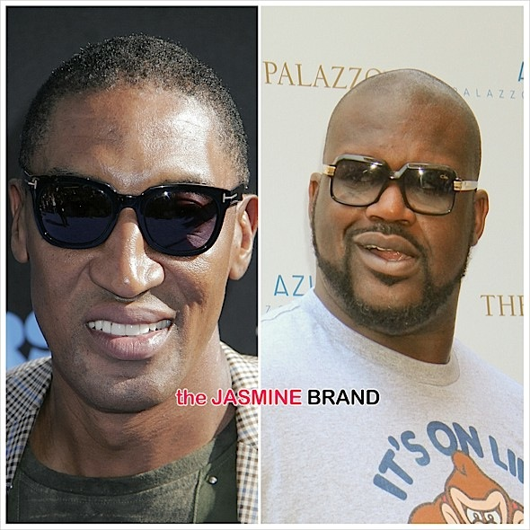 Shaq vs Scottie Pippen-the jasmine brand