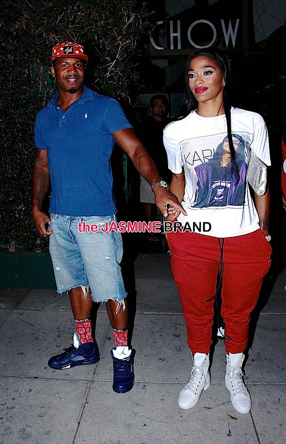 Stevie J and Joseline Hernandez go to Mr Chow for dinner together