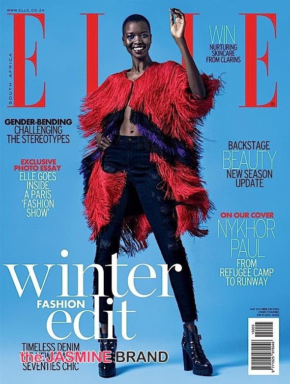 Super Model Nykhor Paul Covers ELLE-the jasmine brand