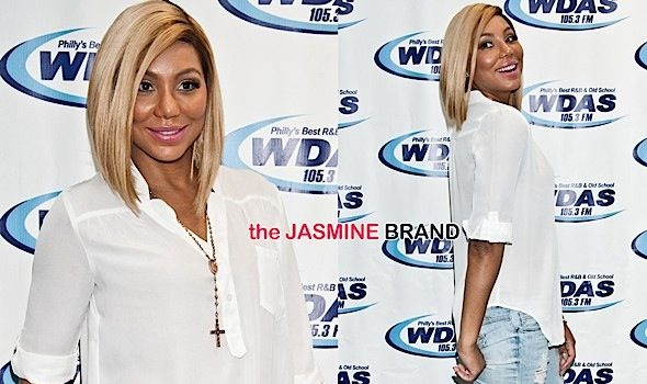 Tamar Braxton Hits Philly For Press Run [Spotted. Stalked. Scene.]