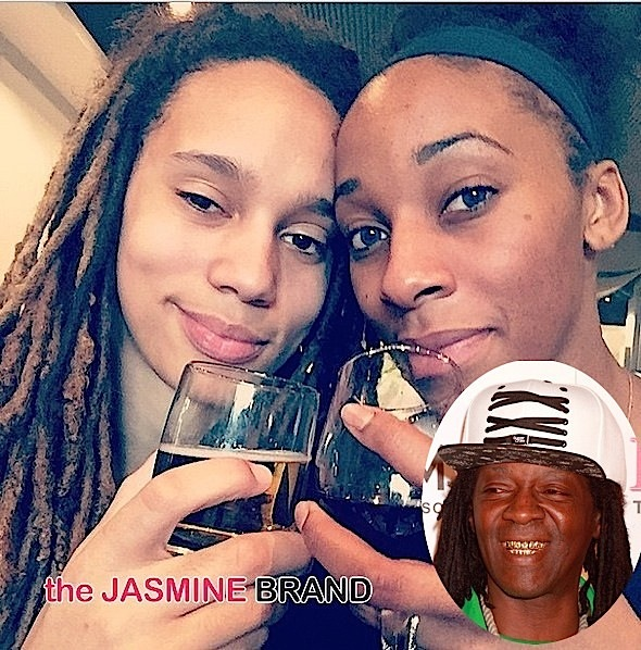 WNBA's Brittney Griner Accuses Glory Johnson of Cheating + Flavor Flav Charged With Cocaine Use & DUI