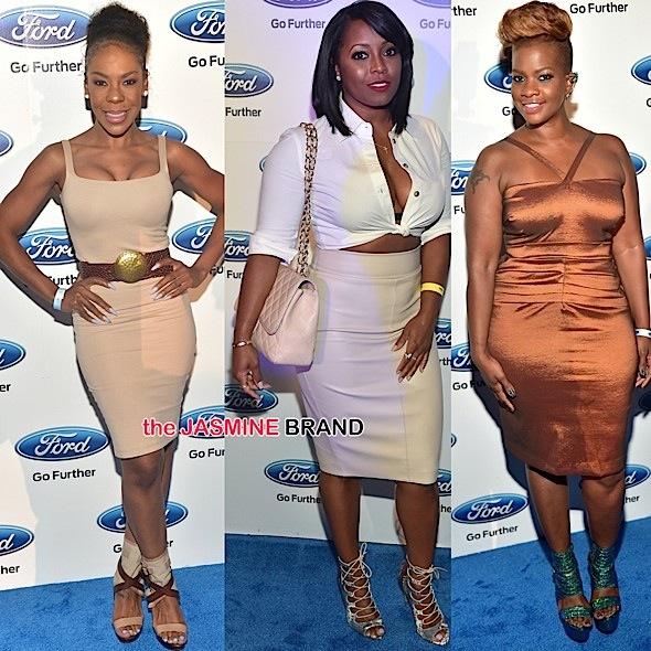 Andrea Kelly, Keshia Knight-Pulliam, Christina Johnson