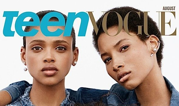 Teen Vogue Introduces New Faces of Fashion: Aya Jones, Lineisy Montero & Imaan Hammam