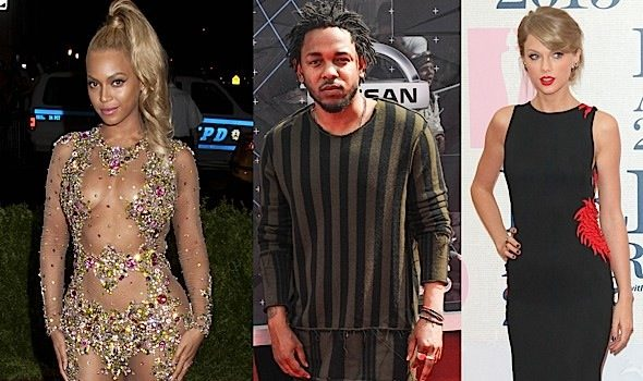 Beyonce, Kendrick Lamar, Taylor Swift, Ed Sheeran Lead MTV Music Award Nominations + See Complete List