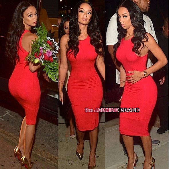 Draya Michele Says Hollywood Labels Reality Stars D-List, Shades Sundy Carter + See Her Party at ATL's Prive [Photos]