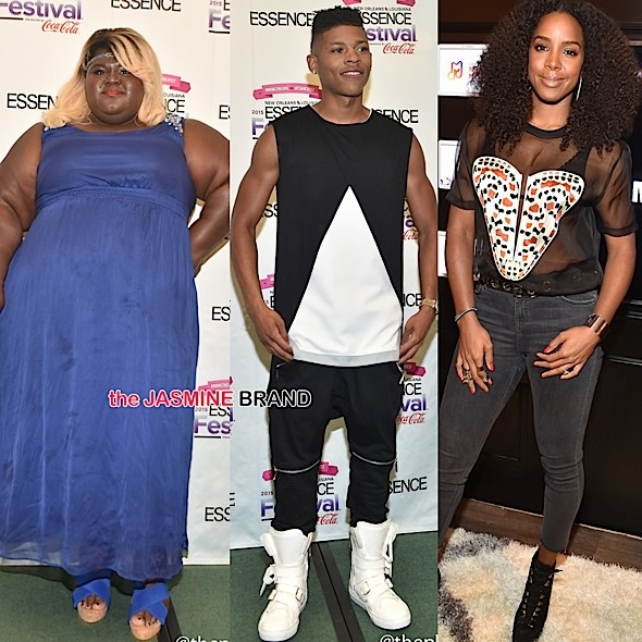 Usher, Common, Erykah Badu, Kelly Rowland, Gabourey Sidibe, Iyanla Vanzant, Wale, Sevyn & More Spotted in NOLA [Photos]