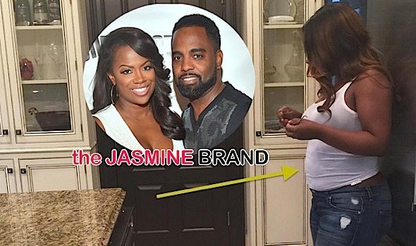 Baby Tucker Is Growing: See Kandi Burruss Baby Bump! [Ovary Hustlin']