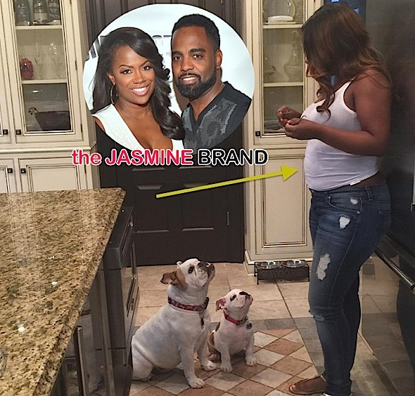 kandi burruss-baby bump-the jasmine brand