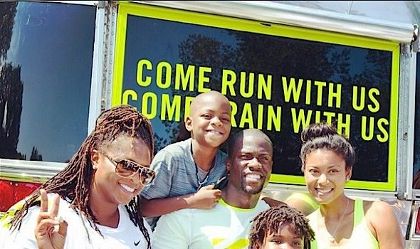 Kevin Hart Shows Us What One Happily Blended Family Looks Like [Photo]