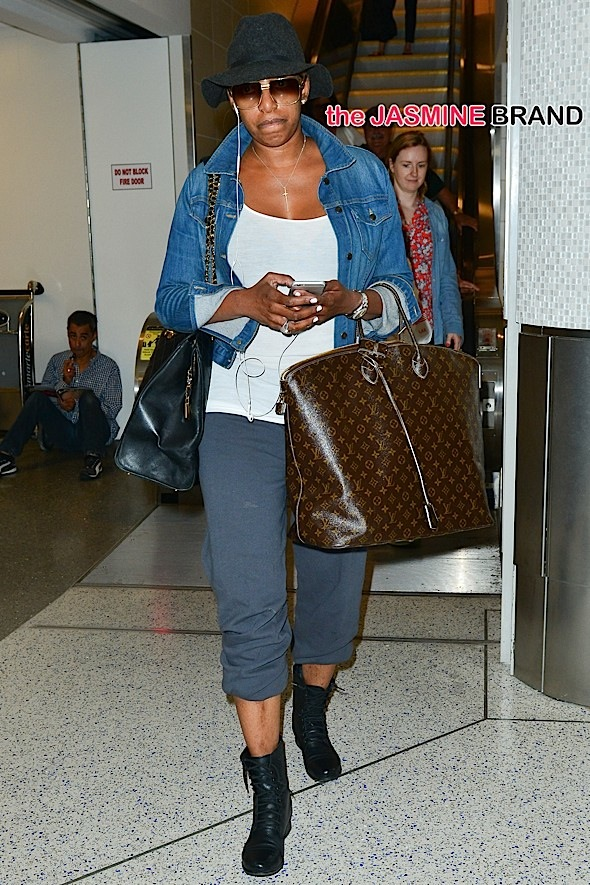 INF - NeNe Leakes at LAX Airport