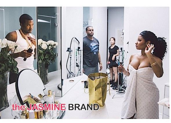 Nicki Minaj & Meek Mill Share Adorable Home Video [WATCH]