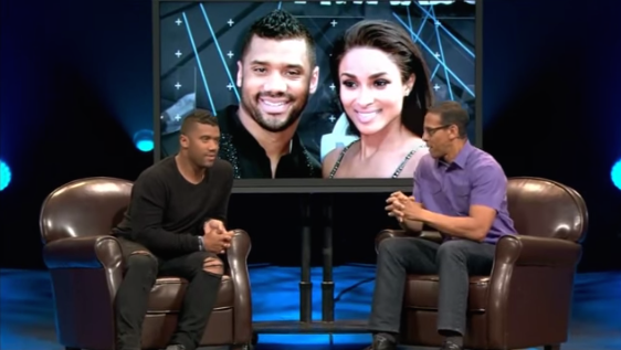 Russell Wilson Talks Ciara & Abstaining From Sex: 'She's Everything You Could Ever Want' [VIDEO]