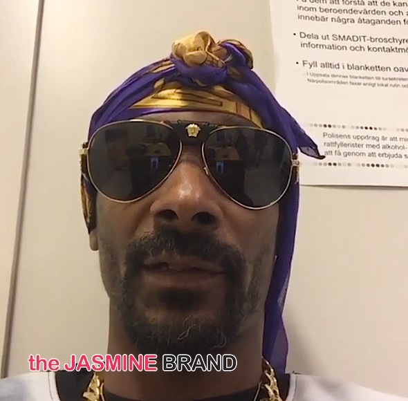 'I'm sick of these pigs!' Snoop Arrested In Sweden [VIDEO]
