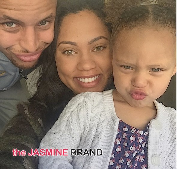 NBA Baller Stephen Curry & Wife Welcome Baby Girl #2! [Ovary Hustlin']