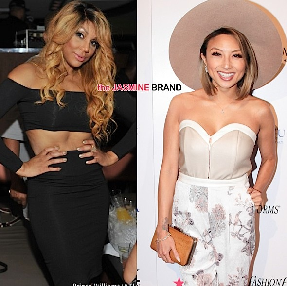 Tamar Braxton Criticizes Jeannie Mai For Not Quitting Donald Trump's Miss USA Pageant: Have several seats!