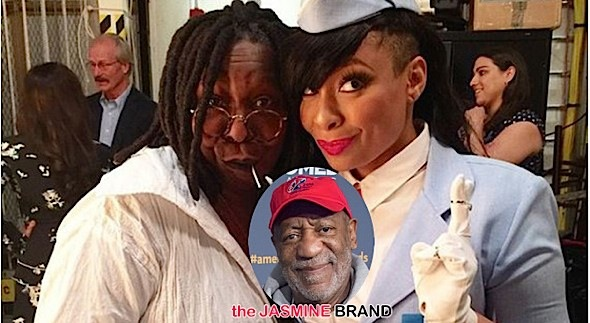 Whoopi Goldberg &Raven Symone Won't Turn on Bill Cosby Just Yet [VIDEO]
