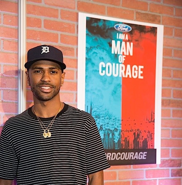 Big Sean's Foundation Partners With 'Men Of Courage Campaign' [Photos]