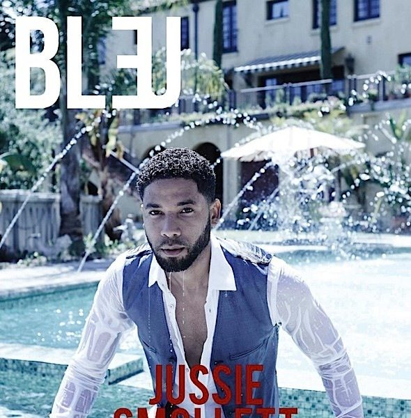 'It was like coming out again & again & again.' Jussie Smollett On Empire + See His Bleu Spread! [Photos]