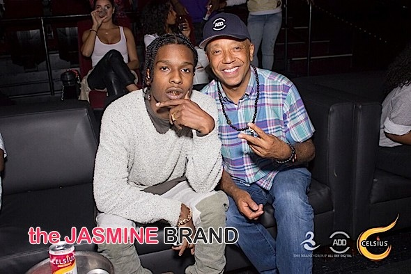 A$AP Rocky, Russell Simmons, Rachel Roy Spotted At 'All Def Comedy Live' [Photos]