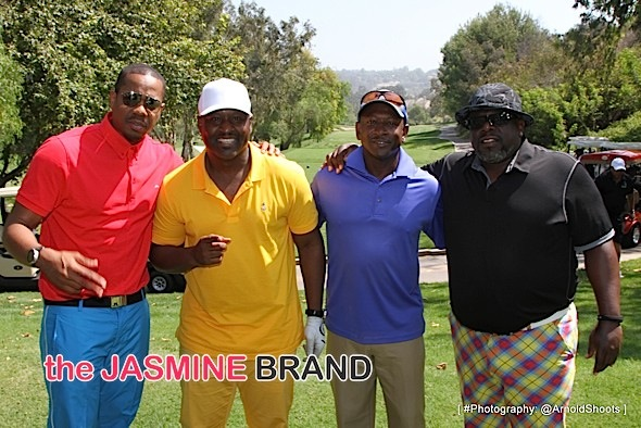 Duane Martin, Johnny Gill, Joe Torry and Cedric