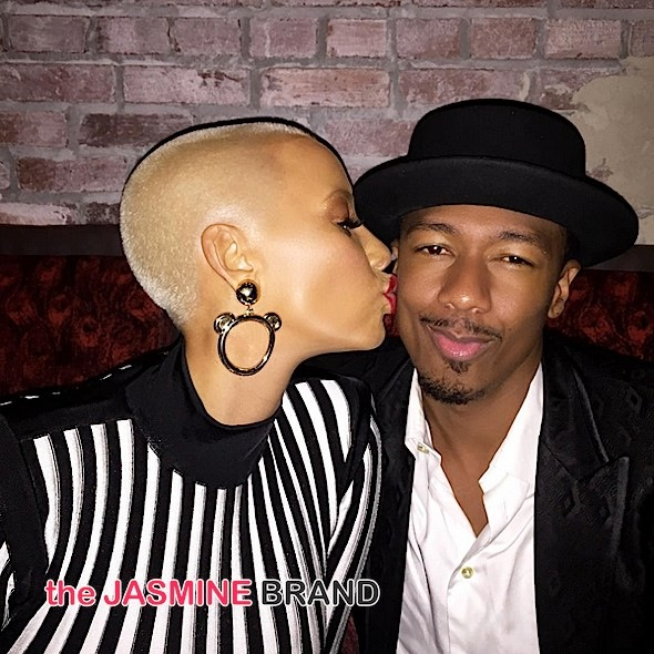 Amber Rose Gets Kissy Face With Nick Cannon + Inadvertently Lures Models Into Prostitution [VIDEO]