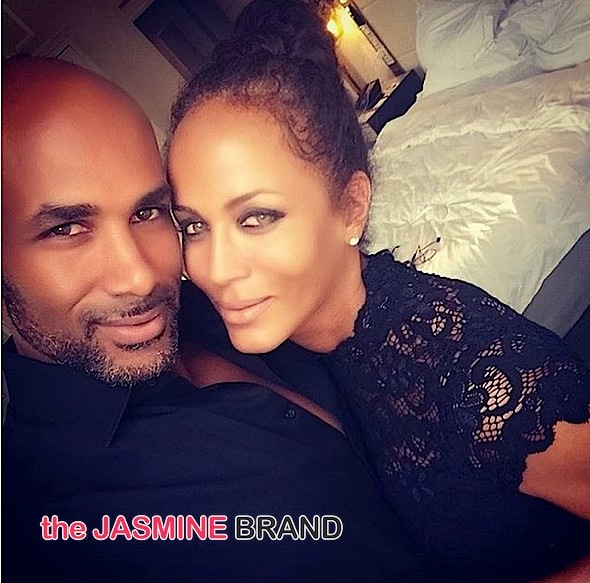 Boris Kodjoe and Nicole Ari Parker-the jasmine brand