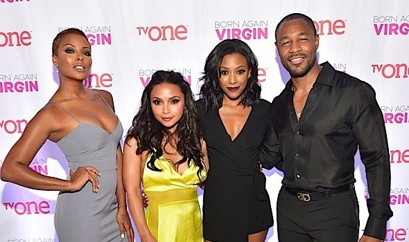'Born Again Virgin' ATL Premiere: Tank, Eva Marcille, Danielle Nicolet, Meagan Holder Attend [Photos]
