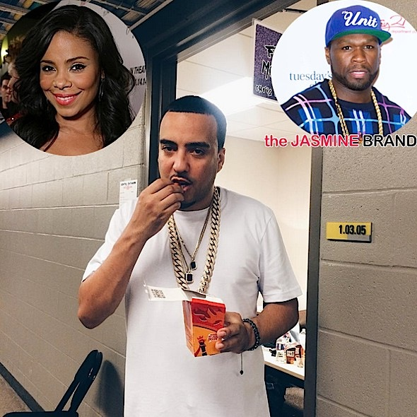 French Montana Talks Vodka Beef With 50 Cent +  Rumors of Dating Sanaa Lathan