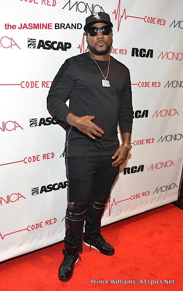 Jeezy-Monica Code Red Listening Session-the jasmine brand