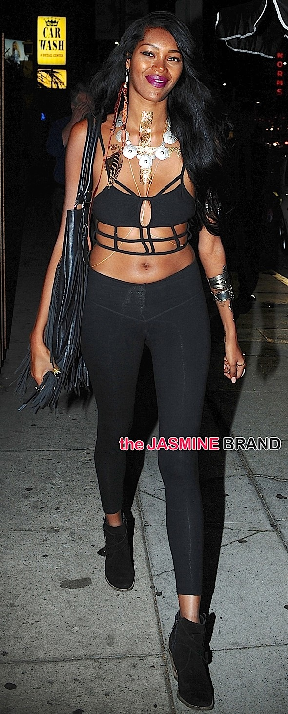 Jessica White goes out to Nice Guy in West Hollywood, CA