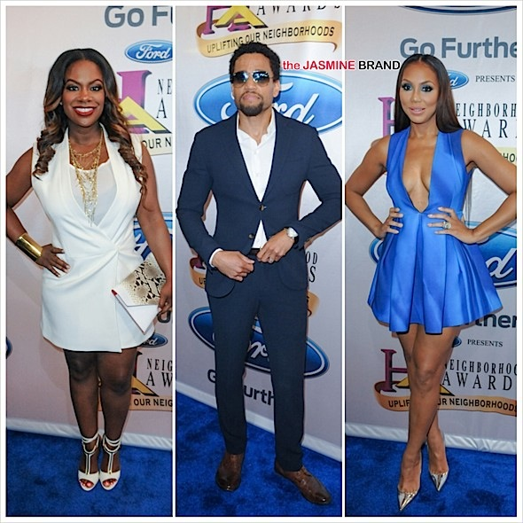 Neighborhood Awards Red Carpet: Tamar Braxton, Kandi Burruss, Michelle Williams, Michael Ealy, Kelly Price, Sanaa Lathan & More [Photos]