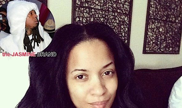Karrine Steffans is NOT Pregnant By Lil Wayne [Ovary Hustlin']