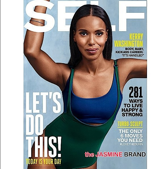 Kerry Washington Loves Her Post Preggo Body: It's the site of a miracle now. I don't want to be pre-miracle. + See Her Self Cover! [Photos]