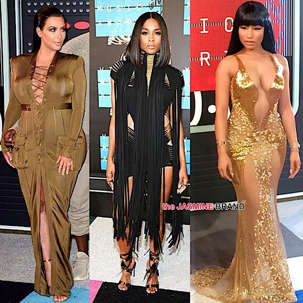 MTV VMA's Red Carpet! Ciara, Kim Karadashian, Nicki Minaj, Miley Cyrus, Big Sean, Rita Ora & More! [Photos]