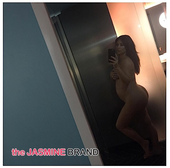 Pregnant & Nude: Kim Kardashian Defends Weight Gain: Everyone's body is different.