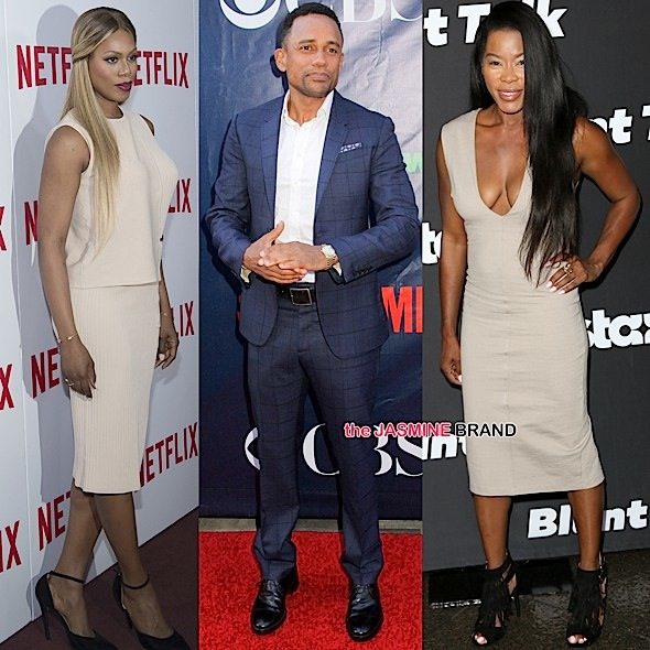 Celebrity Stalking: Laverne Cox, Hill Harper, Golden Brooks, Mel B, Courtney Kemp, Selenis Leyva [Photos]