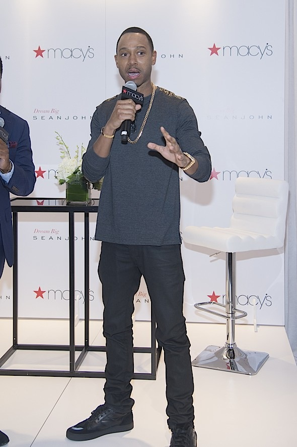 Macy's Herald Square Hosts Terrence J in New York City