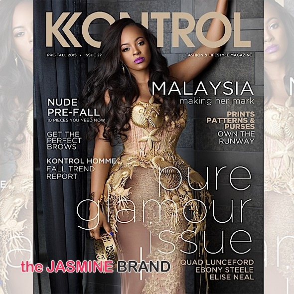 Basketball Wives LA's Malaysia Pargo Snags KONTROL Cover [Photo]