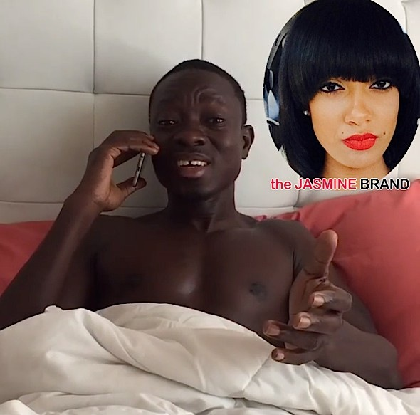 Michael Blackson-Slams Former Reality star Cat-the jasmine brand