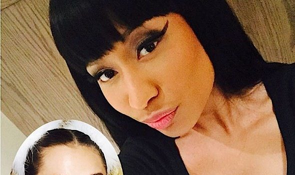 Awkward Much? Nicki Minaj Calls Miley Cyrus A 'B*tch' During VMA Speech [VIDEO]
