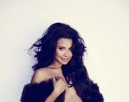 Naya Rivera Strips Nude For Maternity Shoot + Talks Internet Trolls: People can be so mean. [Ovary Hustlin']