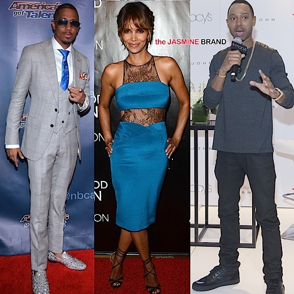 Celebrity Stalking: Halle Berry, Terrence J, Omarosa, Nick Cannon, Mel B, Chandra Wilson, Wayne Brady, Louis Gossett [Photos]