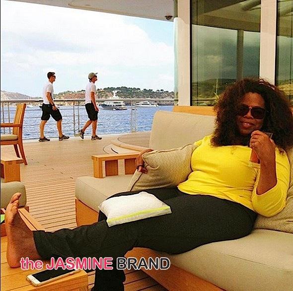 Oprah-knee injury-the jasmine brand