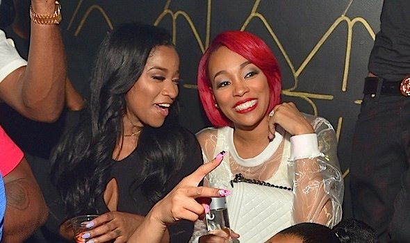 Nicki Minaj, Meek Mill, Dej Loaf, Monica, Toya Wright Party At XS Lounge [Photos]