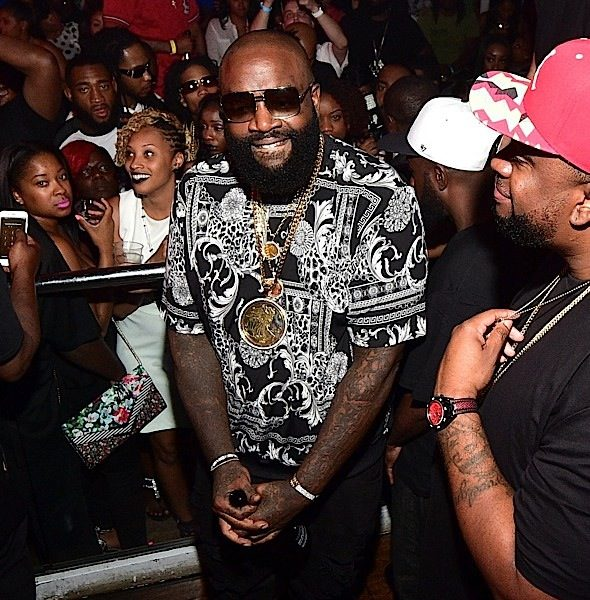 Rick Ross Parties In the A [Spotted. Stalked. Scene.]