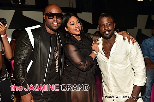 Lance Gross, Trina, Rico Love, Big Krit Party at Gold Room [Photos]