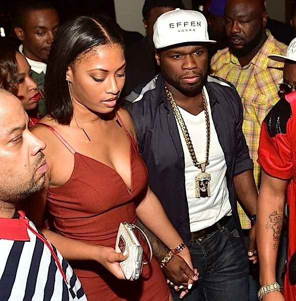 50 Cent Parties With Mystery Woman at ATL Club [Photos]