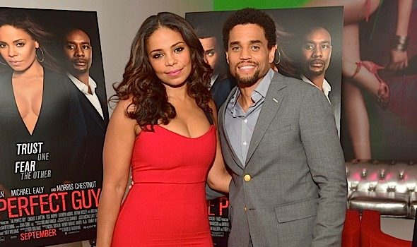 Sanaa Lathan & Michael Ealy Promote 'The Perfect Guy' In ATL [Photos]